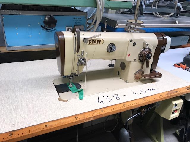 Zig zag 3 punti ricami vari pfaff 438 900 for Macchine da cucire usate