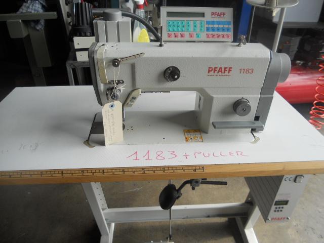 Lineari 1 ago puller pfaff 1183 for Macchine da cucire usate
